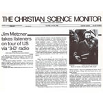 Christian Science Monitor, June 1983